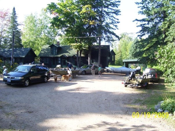 The gaither 39 s fishing lodge in the wisconsin woods and lakes for Wisconsin fishing lodges
